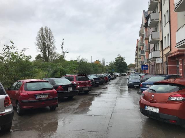 Głogów problem z parkowniaem na Starym Mieście