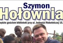 TutajGLOGOW.pl Szymon Hołownia w głogowskiej bibliotece SLIDE