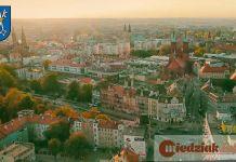 Miedziak Miasto Legnica Panorama z lotu ptaka 01