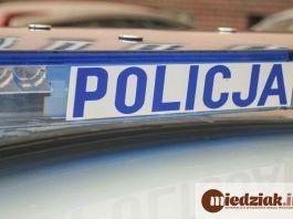 Miedziak Policja sygnał policyjny radiowóz