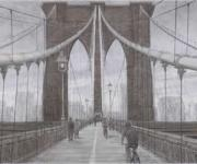 第95回院展 「Brooklyn Bridge」