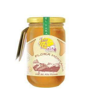 Miel de Flora Montana 500 g. (Alto Pirineo)