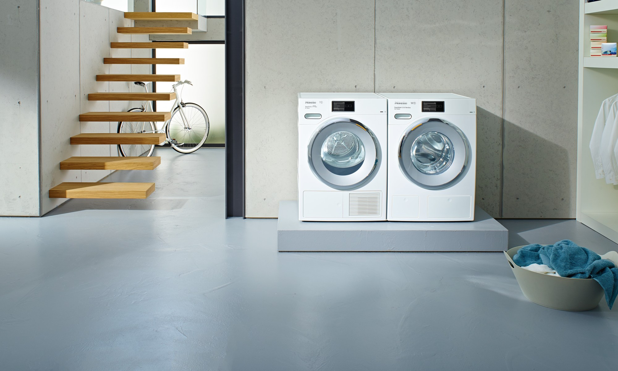 Miele laundry appliances