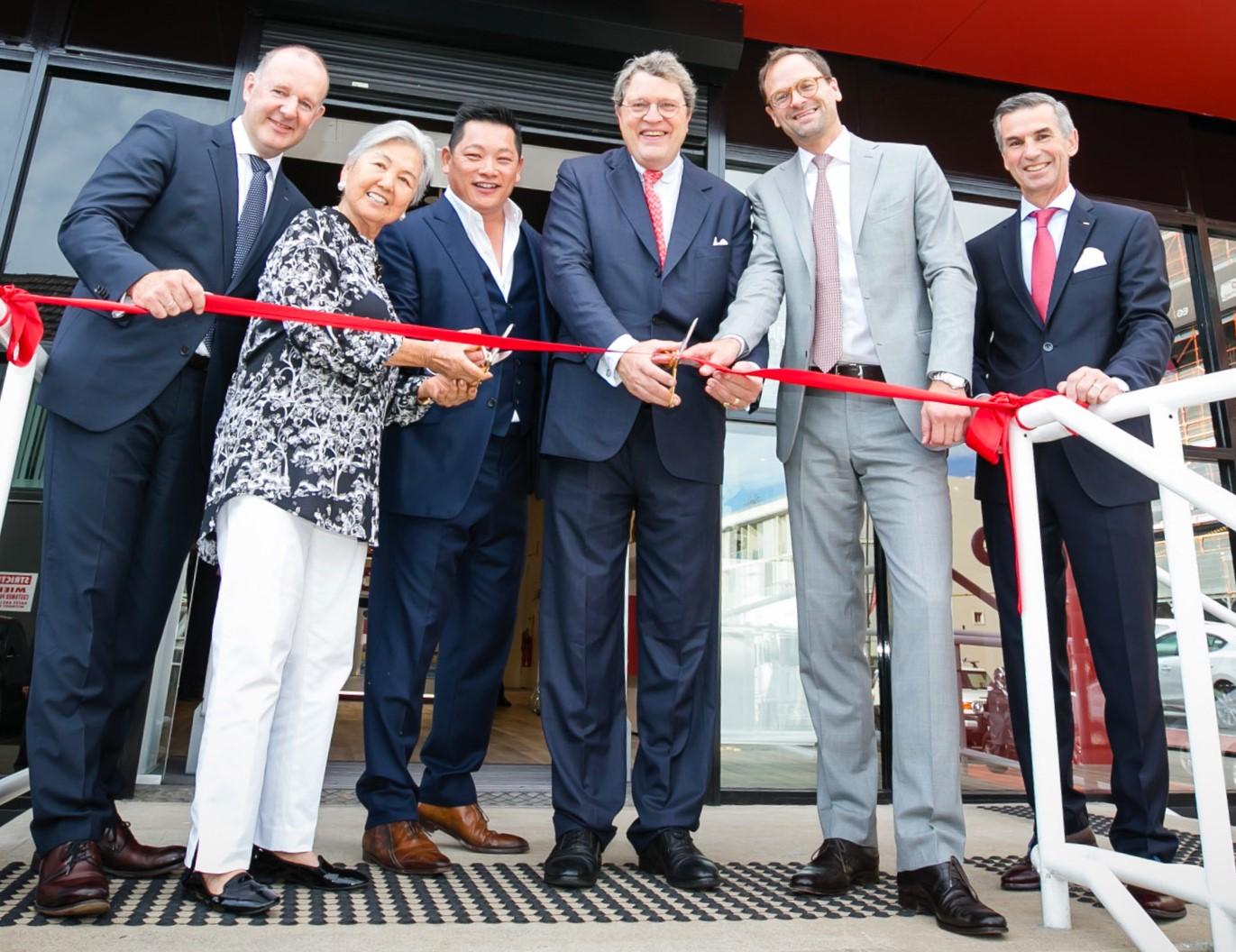 BING LEE: Miele Drummoyne Store Opening. October 12, 2017. Victoria Road, Drummoyne, NSW, Australia. Photo: Narelle Spangher, BING LEE