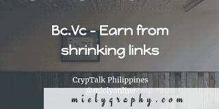 earn by shrinking urls : bc.vc