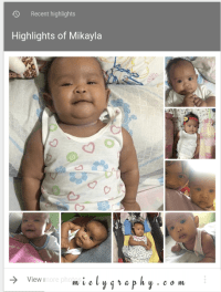 Automated higlights on Google Photos