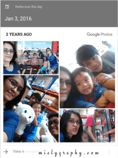 Rediscovering photos from the past: Google Photos