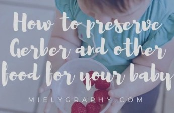 How to preserve Gerber and other food for your baby