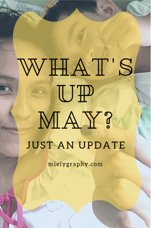 What's up with May?