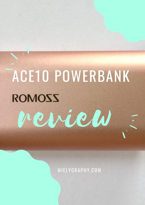 Romoss Ace A10 10000 mAh  Powerbank Review