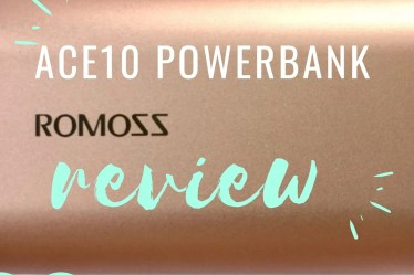 Romoss Ace 10 Powerbank review