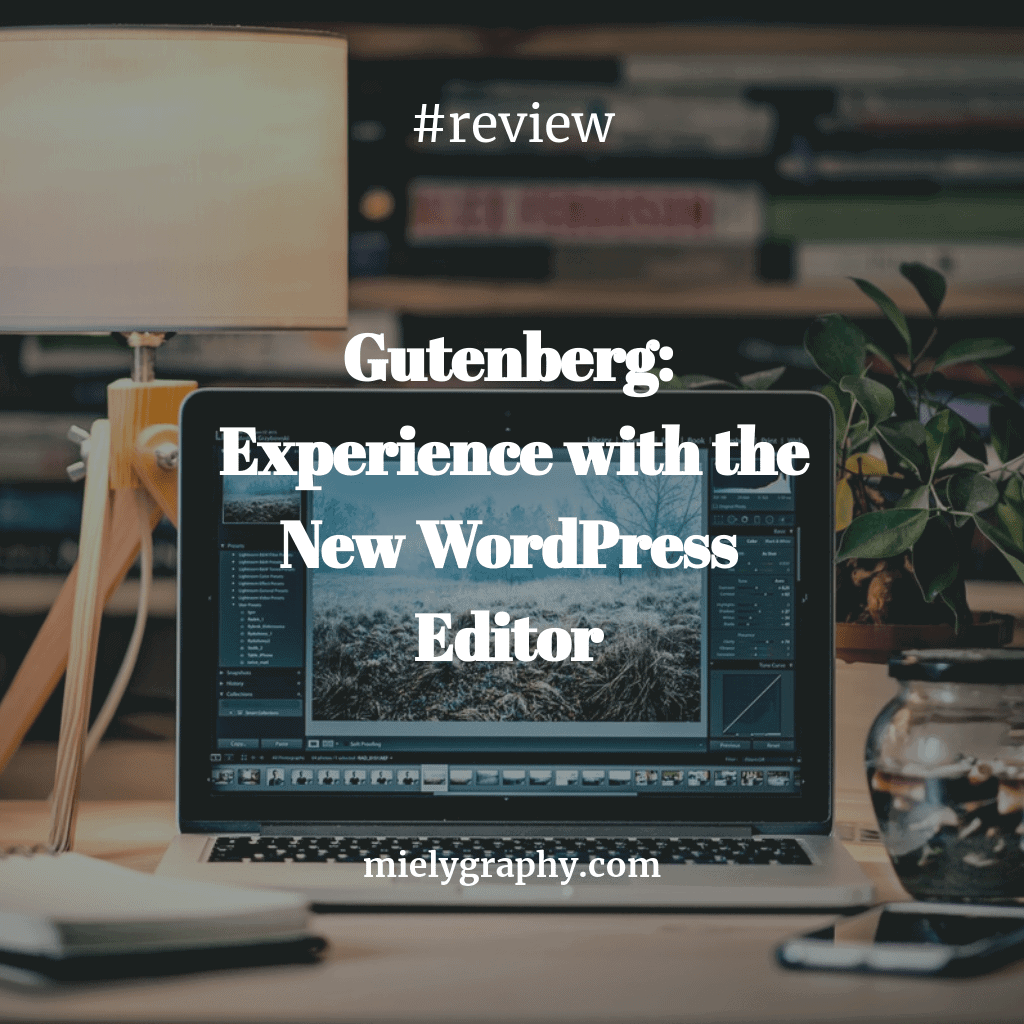 Gutenberg: Experience with the New WordPress Editor