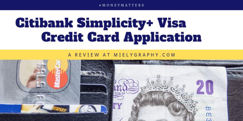 Citibank Simplicity+ Visa Credit Card Application Review