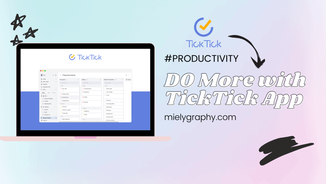 ticktick productivity and task management app review