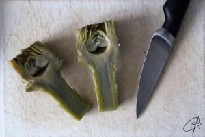 Alcachofdas en salsa
