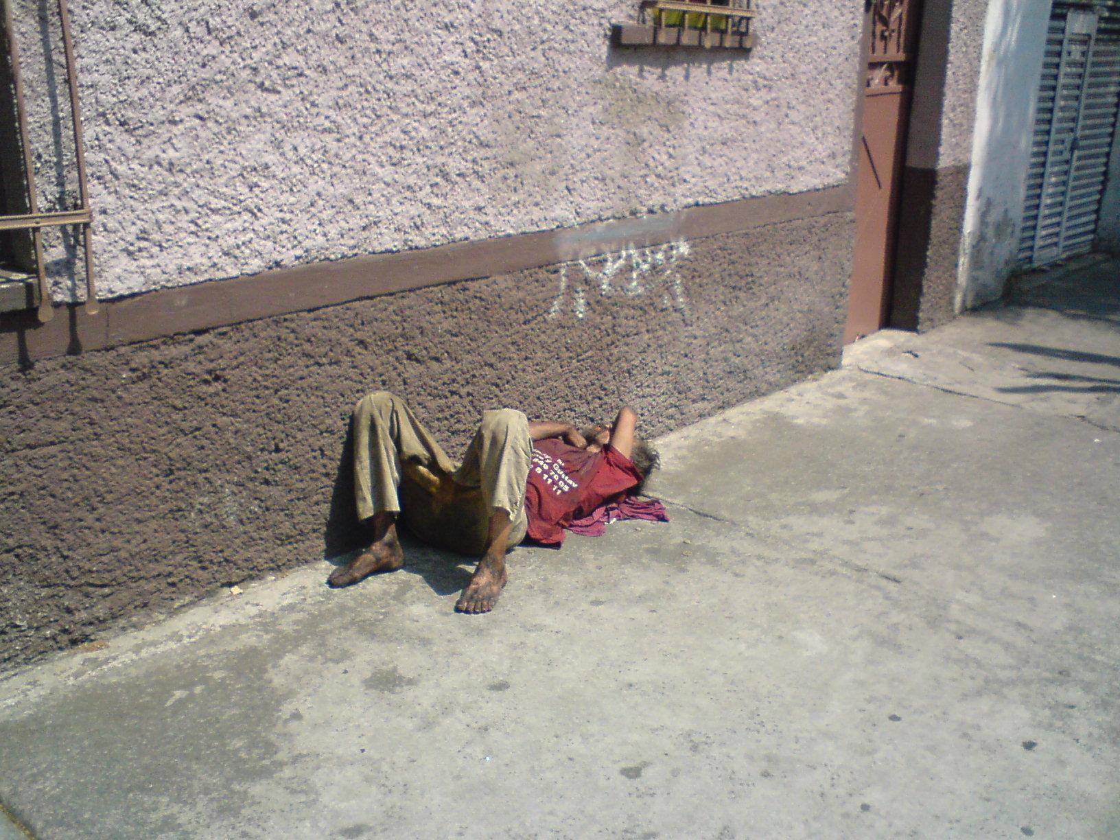 Chakal durimendo la peda cerca de Tlalpan