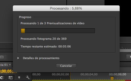 Renderizar, Tutorial Adobe Premier Pro CC