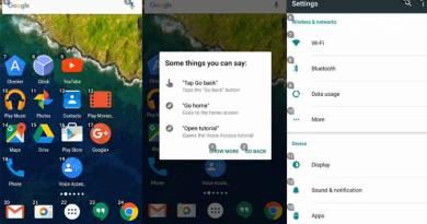 App que permite contralar un Android con la voz