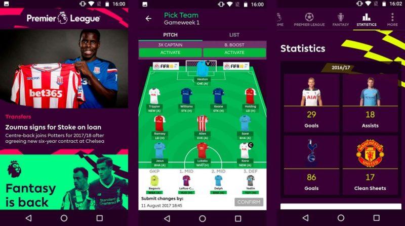 Apps de futbol para seguir las ligas