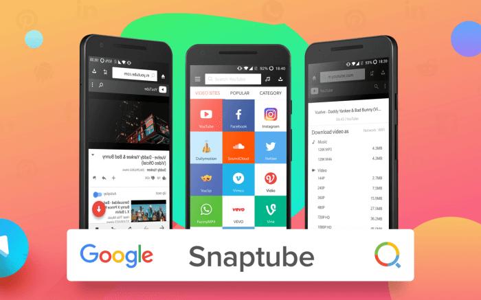 Snaptube: Descarga vídeos y música en Android