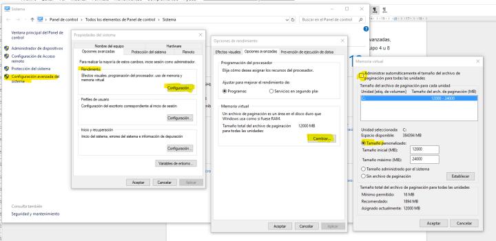 Trucos para acelerar Windows 10 - configuración