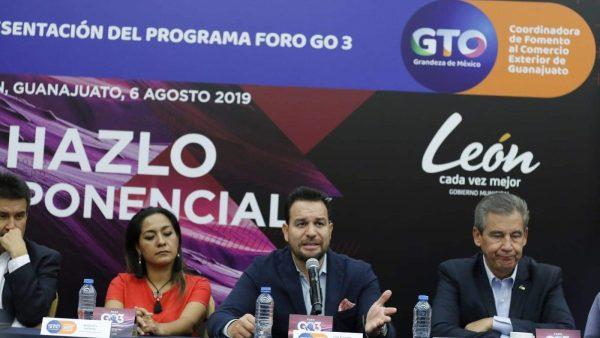 Foro GO3 motor de desarrollo para Guanajuato