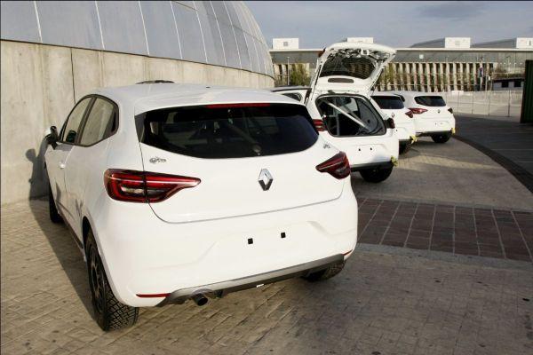Llegan los Renault Clio Rally5 al Rally Campus