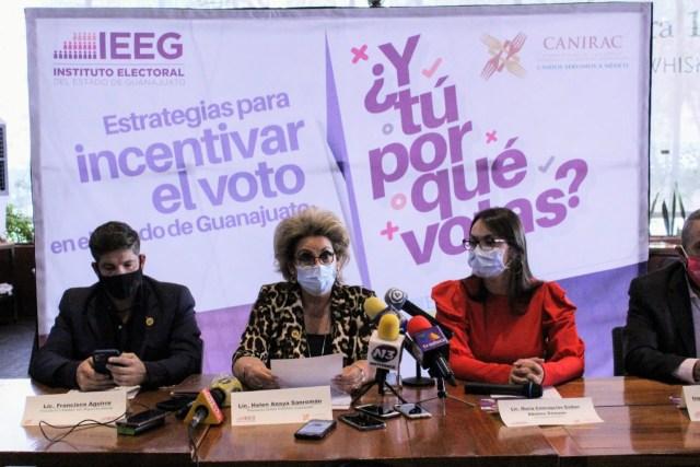 INCENTIVARÁN a la participación del VOTO desde los RESTAURANTES de Guanajuato
