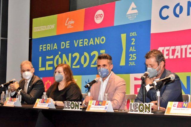 Mañana inicia la Feria de Verano León 2021