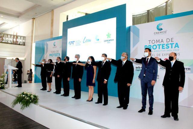 CNEMCO realiza toma de protesta de su Consejo Directivo 2021-2022