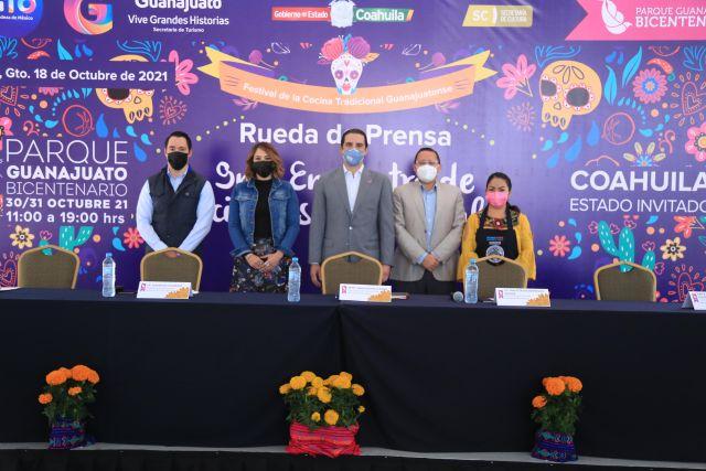 Guanajuato y Coahuila celebrarán el Encuentro de Cocineras (os) Tradicionales