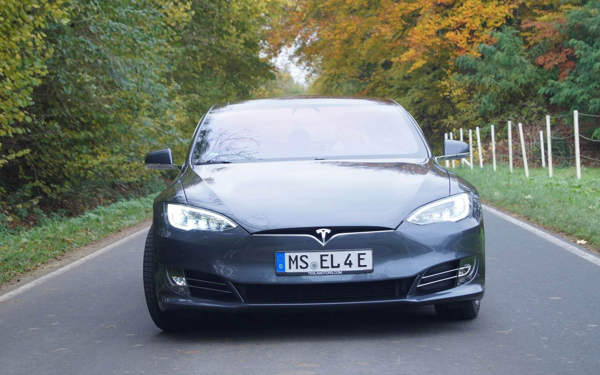 Tesla Model S Münster2