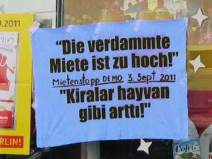 Mietenstopp-Demonstration Berlin-Neukölln Hermannplatz aCAMPAda #alex11