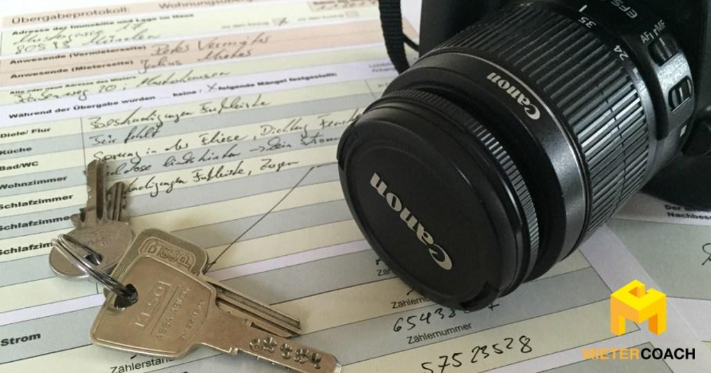 Übergabeprotokoll für die Wohnungsübergabe mit Formular zum Download