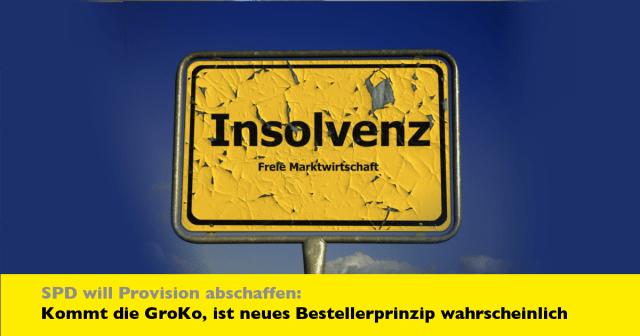 Immobilienmakler: GroKo könnte Bestellerprinzip beim Immobilienkauf einführen