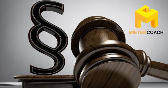 Rechtsschutz für Mieter