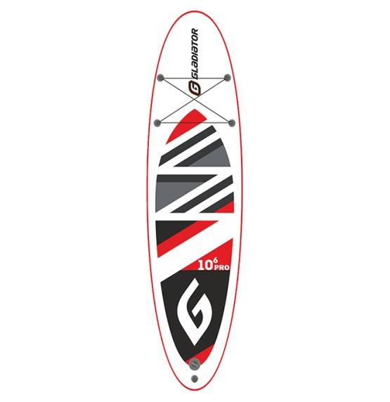 mietSUP - Gladiator pro - 10.6 Allround-SUP-Board