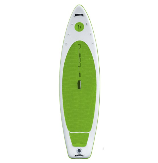 airboard sup board stream lime-green mietsup