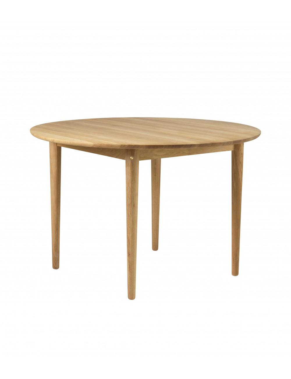 table ronde extensible bjork c62e chene