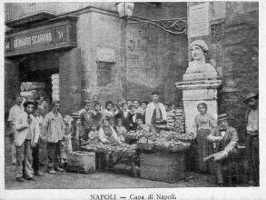 comida callejera napolitana siglo XIX