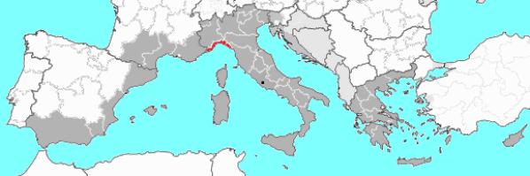 Claves territoriales de la cocina ligur. Ubicación geográfica