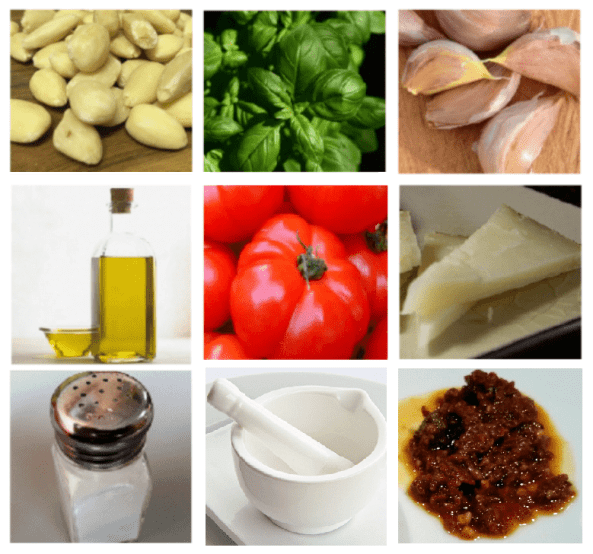 Pesto rojo siciliano