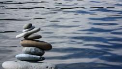 sérénité zen calme galets