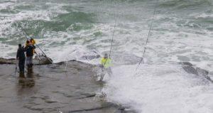 pêcheurs en danger