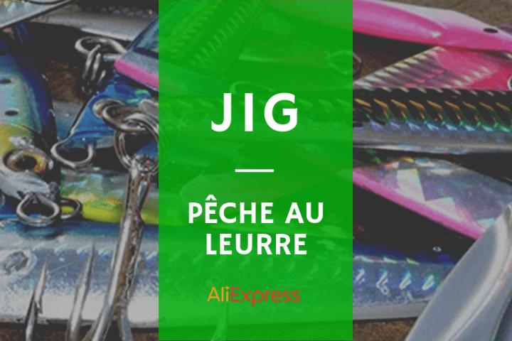 Liste des meilleurs jigs de pêche AliExpress mer
