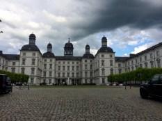 Angekommen: Schloss Bensberg