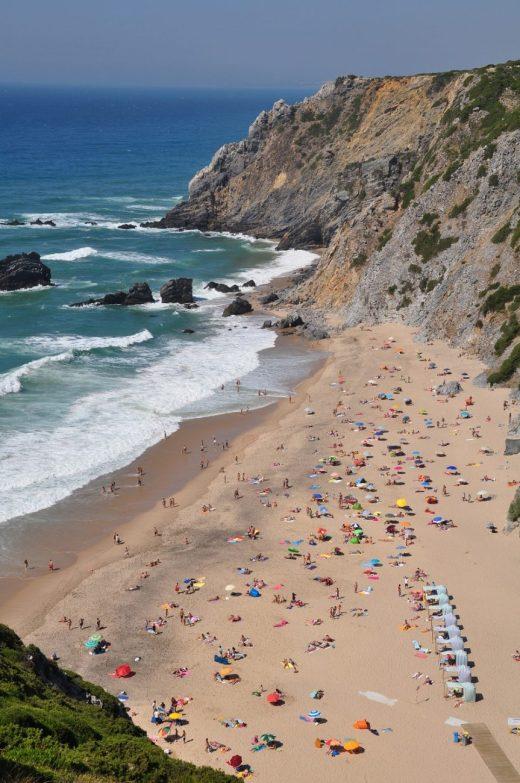 Playa de Adraga (foto de Sintra Municipality)