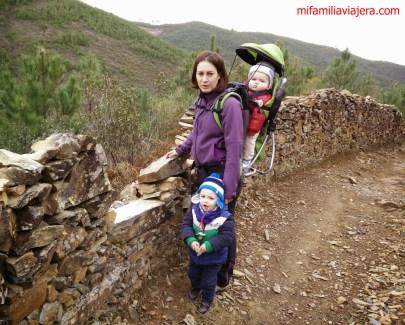 Ruta Despoblado El Moral, Horcajo, Las Hurdes