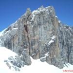 Picos de Europa. Pared sur de la Torre de Horcados Rojos. Fuente Dé
