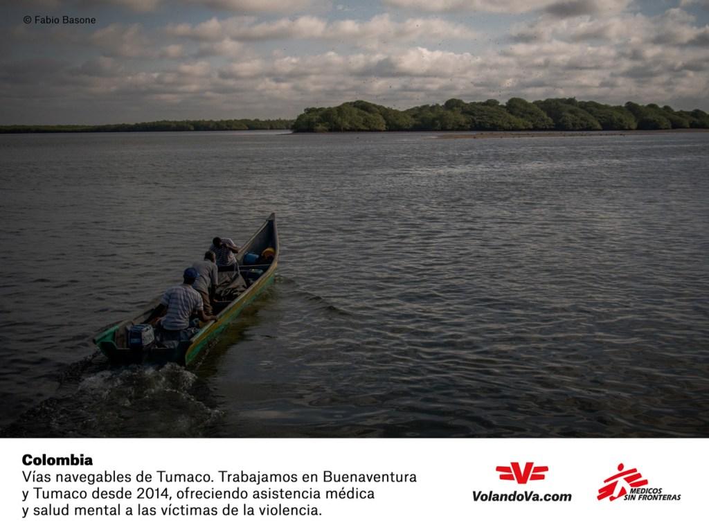 Colombia, Médicos Sin Fronteras
